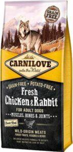 Carnilove Grain Free Fresh Chicken & Rabbit Adult 12 kg