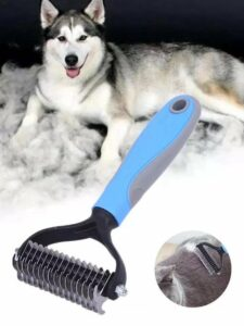 Hondenborstel husky