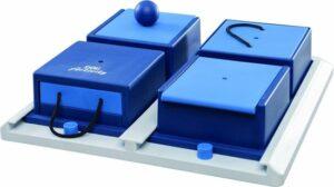 Trixie Dog Activity Poker Box 1 - Hondenspeelgoed - Bruin-Oranje - 31 x 31 cm