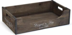 Designed by Lotte - Hondenmand - Hout - 75x45x20 cm
