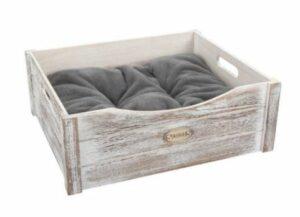 Scruffs Hondenmand Rustic Wooden Bed Driftwood