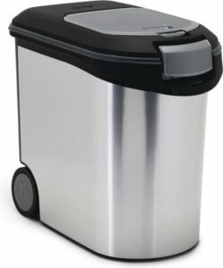 Curver Voedselcontainer - Hond - Metallic - 35 L