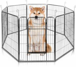 MaxxPet Hondenren - Puppyren met 8 Kennelpanelen