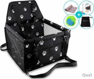 Quzi Autostoel Hond Opvouwbare Waterdichte Hondenmand Auto Onderweg